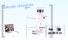 Subsidy resources