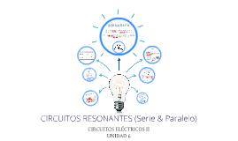 CIRCUITOS RESONANTES