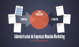 Administración de Empresas Mención Marketing