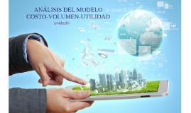 ANÁLISIS DEL MODELO COSTO-VOLUMEN-UNIDAD