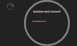 lexinton and concord