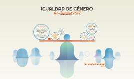Copy of IGUALDAD DE GÉNERO