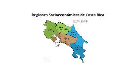 Copy of REGIONES SOCIOECONÓMICAS COSTA RICA