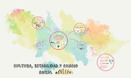 CULTURA, ESTABILIDAD Y CAMBIO SOCIAL
