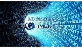 Informatika na FIMEK-u