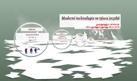 Moderní technologie ve výuce jazyků