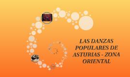 LAS DANZAS POPULARES DE ASTURIAS - ZONA ORIENTAL