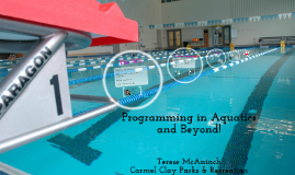 Programming in Aquatics and Beyond!