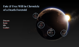 gender roles in chronicle of a death foretold Chronicle of a death foretold is set in columbia, where the extreme theocentricity means every character's actions are intrinsically affected by religion.