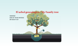 El arbol genealogico / My Family tree