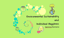 Environmental Sustainability and Individual Happiness