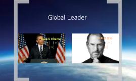 Copy of 글로벌리더십 우린할수있조 13조 오바마와 잡스의 리더십