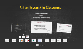 Action Research in classroms