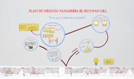 Copy of Plan de Negocio Panadería El Rico Pan...!!!