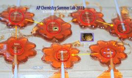 AP Chemistry Summer Lab