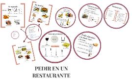 Mini Clase de ELE:  pedir en un restaurante
