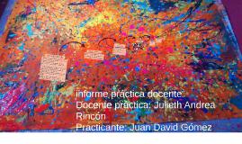 informe práctica docente