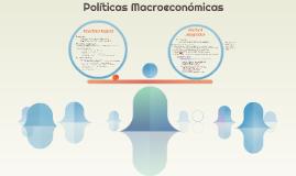 Macroeconomic Policies