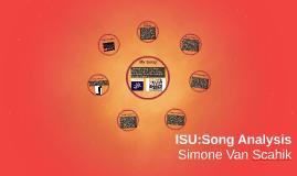ISU:Song Analysis