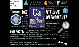 Calcium Poster