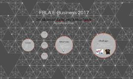 FBLA E-Buisness 2017