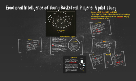 Emotional Intelligence of Young Basketball Players: A pilot