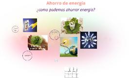 Copy of Ahorro de energía