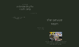Understanding the Youth Camp v2.0