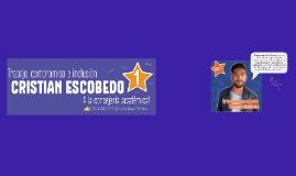 Resumen de programa de Cristian Escobedo, candidato a Consejero Académico
