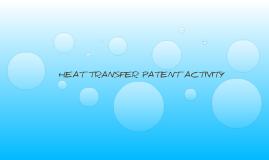 Heat Transfer Patent Activity - Science