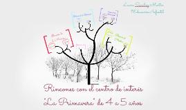 """Copy of Rincones con el centro de interés """"La Primavera"""""""