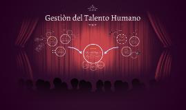 Copy of Copy of Copy of Gestiòn del Talento Humano
