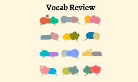 Reusable EDU Design: Vocab Review by alicia balderrama