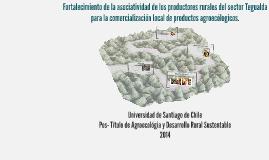 Copy of Fortalecimiento de la asociatividad de los productores rural