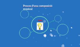 Proces d'una composició musical
