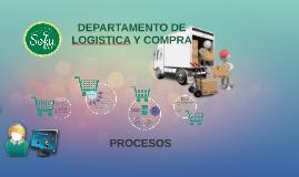 DEPARTAMENTO DE lOGISTICA Y COMPRA