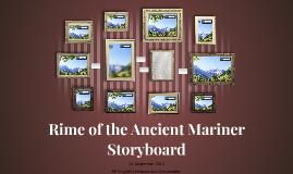 Rime of the Ancient Mariner Storyboard