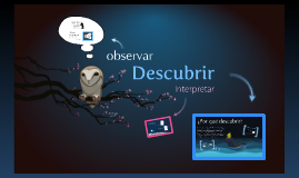Descubrir: observar e interpretar