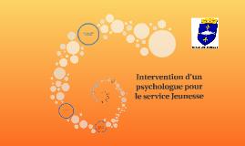 Intervention d'un psychologue pour le service Jeunesse