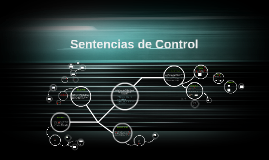 Sentencias de Control