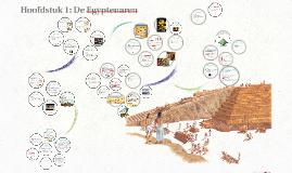Copy of 1KGT Hoofdstuk 1: De Egyptenaren