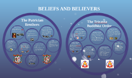 BELIEFS AND BELIEVERS