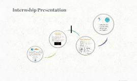 Copy of Copy of Internship Presentation
