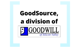 Public Relations Plan for GoodSource