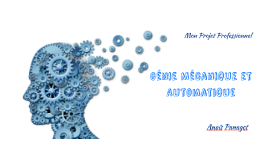 Génie Mécanique et Automatique