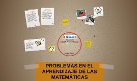 Copy of PROBLEMAS ESPECÍFICOS DEL APRENDIZAJE DE LAS MATEMATICAS
