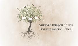 Copy of Nucle e Imagen de una Transformacion Lineal.