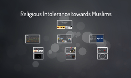 Religious Intolerance towards Muslims