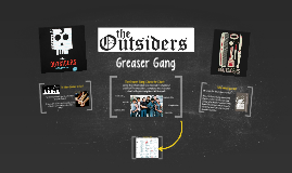 The Outsiders: Greaser Gang Character Chart