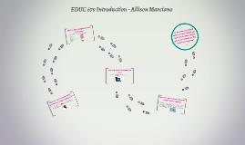 EDUC 679 Introducation